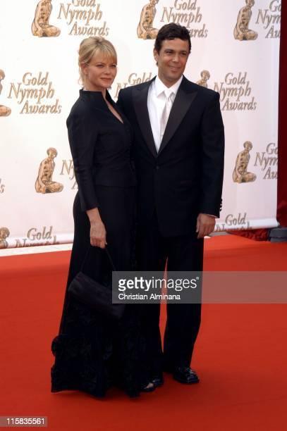 Carlos Bernard and Sharisse BakerBernard during 45th Monte Carlo Television Festival Closing Award Ceremony at Grimaldi Forum in Monte Carlo Monaco