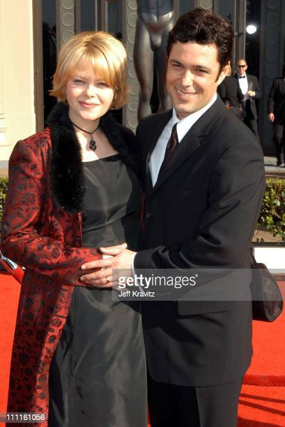 Carlos Bernard and wife during 9th Annual Screen Actors Guild Awards Arrivals at The Shrine Auditorium in Los Angeles California United States