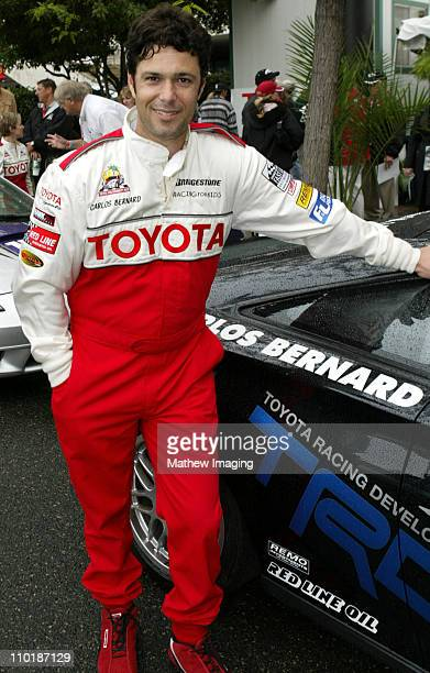 Carlos Bernard during 28th Annual Toyota Pro/Celebrity Race Race Day at Streets of Long Beach in Long Beach California United States