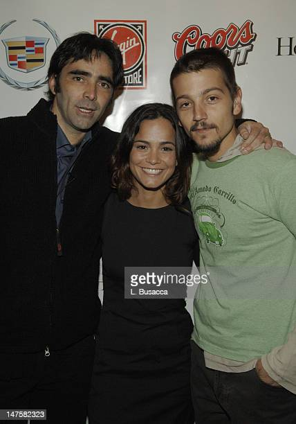 Carlos Bolado Alice Braga and Diego Luna during 2006 Park City Hollywood Life House and Cadillac Lounge Day 1 at 518 Main Street in Park City Utah...