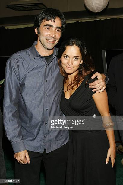 Carlos Bolado and Alice Braga during 2006 Park City Heineken Lounge Hosts Solo Dios Sabe Party at Village at the Lift in Park City Utah United States