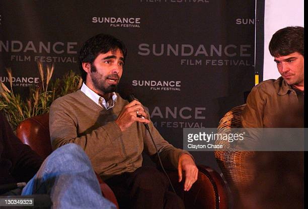 Carlos Bolado during 2006 Sundance Film Festival Conversations at the Lodge at Filmmakers Lodge in Park City Utah United States