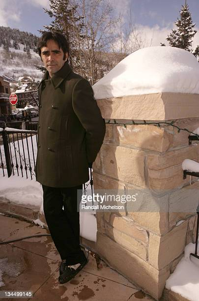 Carlos Bolado during 2006 Sundance Film Festival 'Solo Dios Sabe' Outdoor Portraits in Park City Utah United States