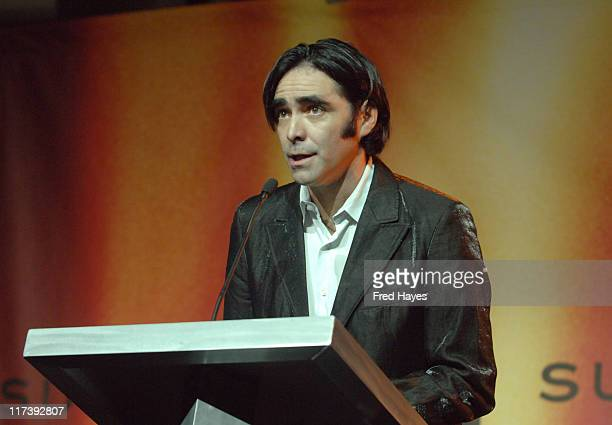 Carlos Bolado during 2007 Sundance Film Festival Awards Ceremony Show at Raquet Club Theatre in Park City Utah United States