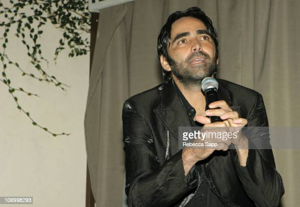 Carlos Bolado during Don Julio Tequila Presents The Creative Coalition Moviemaker Mentoring Series During AFI FEST 2006 at Premiere Lounge in Los...
