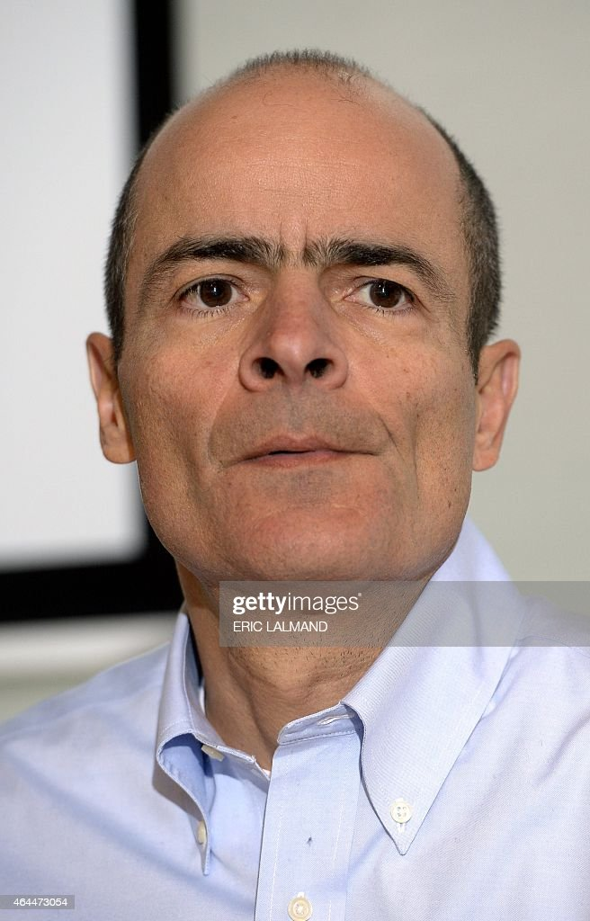 <a gi-track='captionPersonalityLinkClicked' href=/galleries/search?phrase=Carlos+Brito&family=editorial&specificpeople=5398616 ng-click='$event.stopPropagation()'>Carlos Brito</a>, CEO of AB Inbev, gives a press conference on the 2014 year results of brewery group Anheuser-Busch InBev, in Leuven, on February 26, 2015. AFP PHOTO / BELGA / ERIC LALMAND ==Belgium Out==