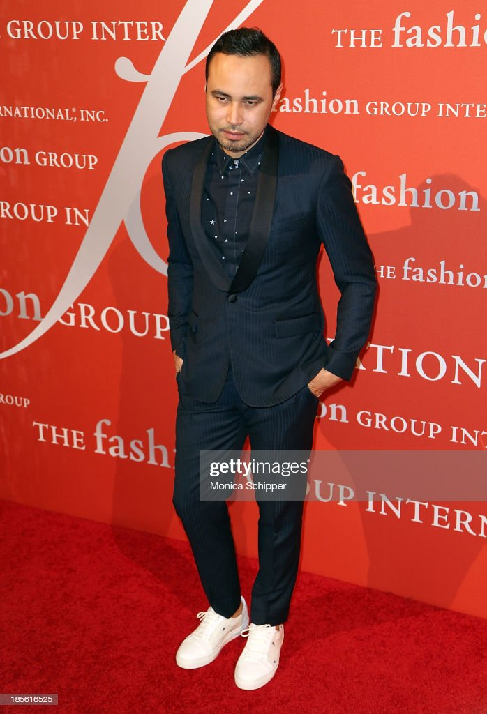 Carlos Campos attends the 30th annual Fashion Group International Night of Stars on October 22, 2013 in New York City.