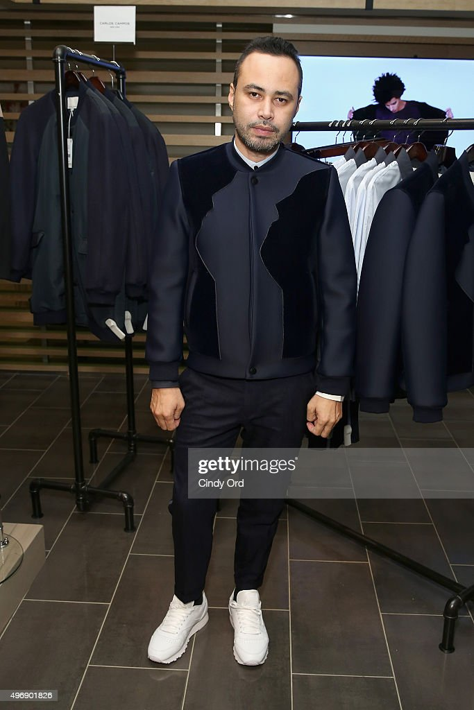 Carlos Campos attends the Lord & Taylor NYC 2015 Holiday Windows Unveiling With Austin Mahone on November 12, 2015 in New York City.