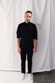 Carlos Campos poses backstage at the Carlos Campos Presentation during MercedesBenz Fashion Week Fall 2014 at Industria Studios on February 5 2014 in...