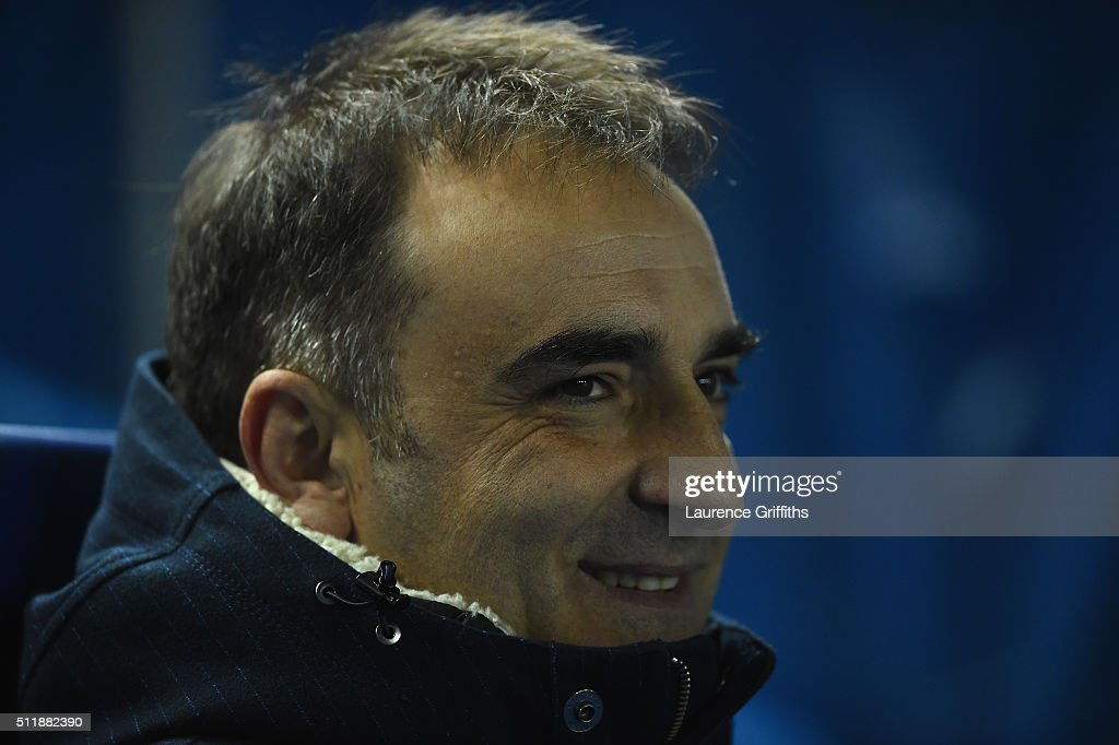 Carlos Carvalhal of Sheffield Wednesday looks on during the Sky Bet Championship match between Sheffield Wednesday and Queens Park Rangers at Hillsborough on February 23, 2016 in Sheffield, United Kingdom.