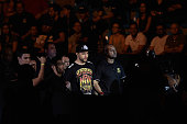 Carlos Condit of the United States enters the arena prior to his welterweight UFC bout againstThiago Alves of Brazil during the UFC Fight Night event...