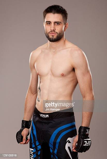 Carlos Condit poses for a portrait on June 29 2011 in Las Vegas Nevada