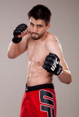 Carlos Condit poses for a portrait on May 10 2011 in Las Vegas Nevada