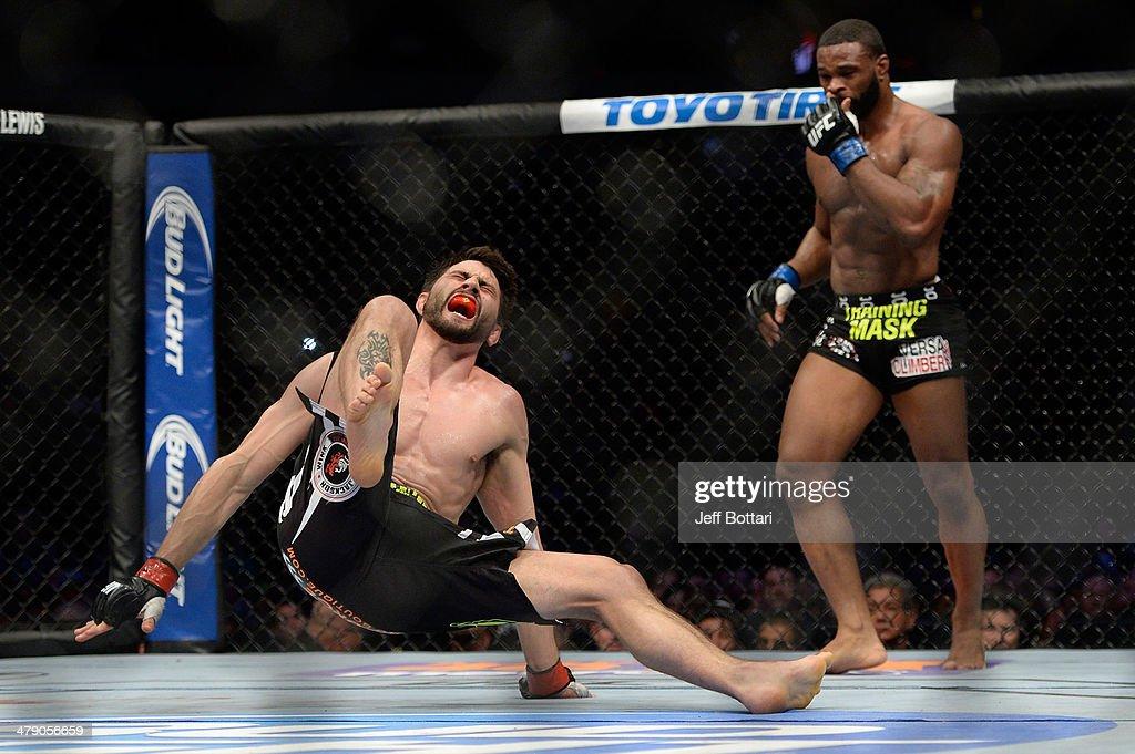 UFC 171: Hendricks v Lawler