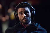 Carlos Condit waits backstage during the UFC 195 weighin at the MGM Grand Conference Center on January 1 2016 in Las Vegas Nevada
