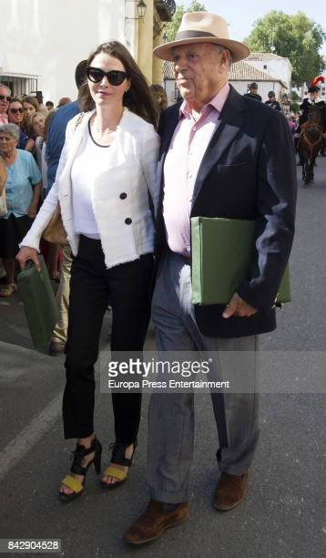 Carlos Falco and Esther Doña attend Goyesca 2017 bullfights on September 2 2017 in Ronda Spain