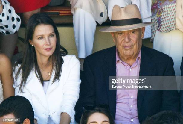 Carlos Falco and Esther Doña attends Goyesca 2017 bullfights on September 2 2017 in Ronda Spain
