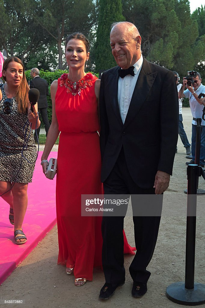Carlos Falco and Esther Dona attend 'Yo Dona' International awards on June 27, 2016 in Madrid, Spain.