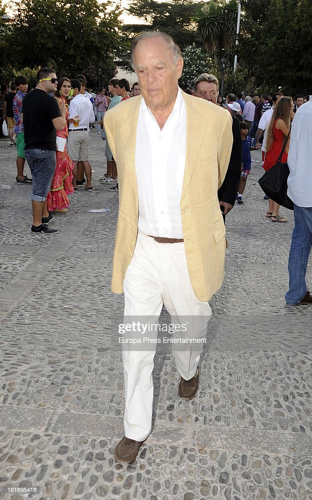 Carlos Falco attends the 'Goyesca' Bullfights on September 8, 2012 in Ronda, Spain. The bullfight events, linked to The Feria Goyesca (Feria de Pedro Romero), stem from the inter-relationship of three main personae which spanned over three centuries, all of whom have strong connections to Ronda. These are the famous 18th century bullfighter, Pedro Romero; the 18th century Spanish painter, Francisco de la Goya; and also the 20th century bullfighter, Antonio Ordonez, to whom the vision of the Ronda's modern Feria Goyesca can be attributed.