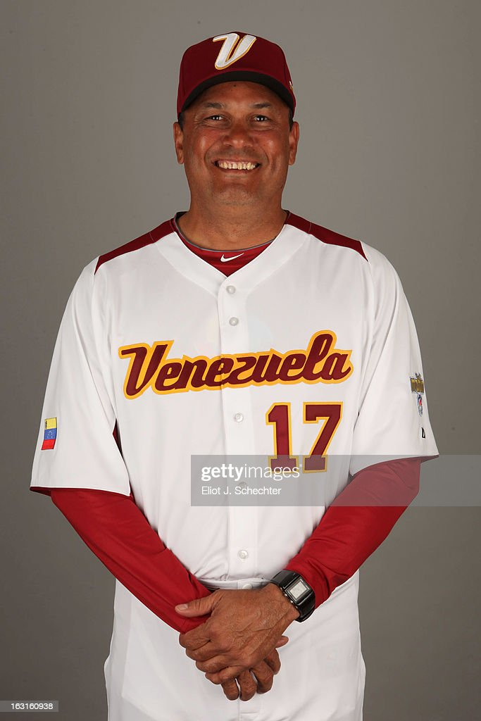 Carlos Garcia #17 of Team Venezuela poses for a headshot for the 2013 World Baseball Classic at Roger Dean Stadium on Monday, March 4, 2013 in Jupiter, Florida.