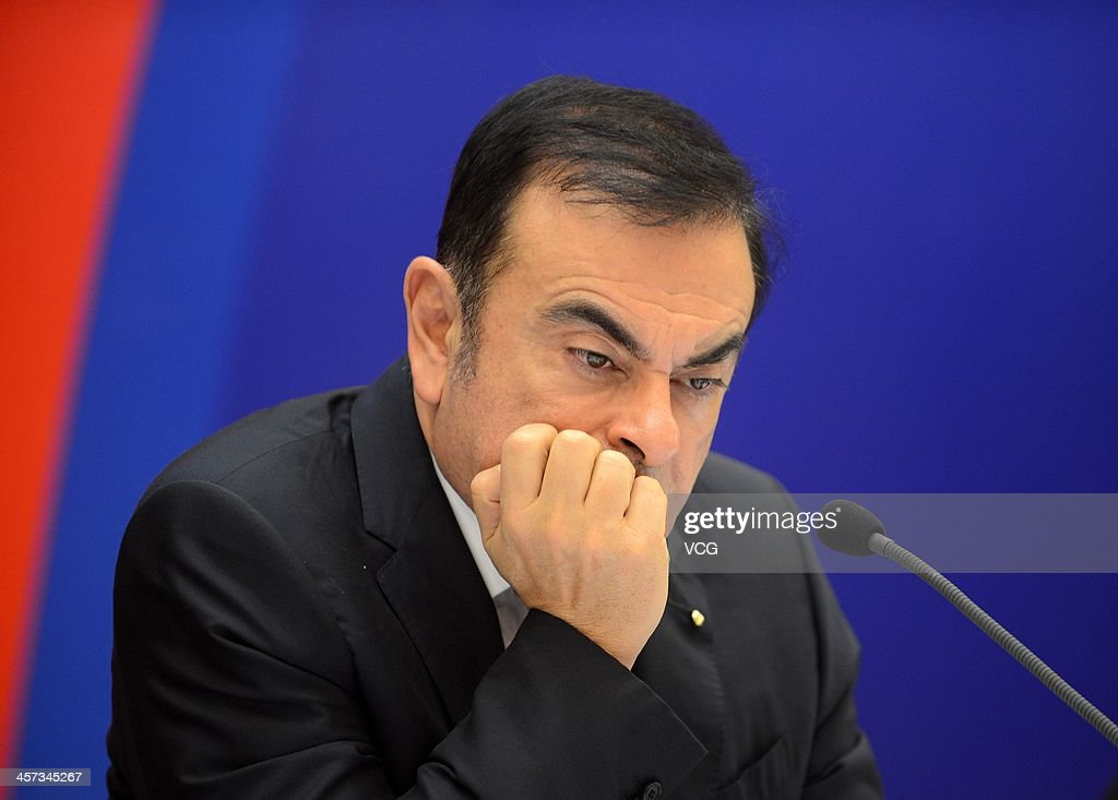 <a gi-track='captionPersonalityLinkClicked' href=/galleries/search?phrase=Carlos+Ghosn&family=editorial&specificpeople=215025 ng-click='$event.stopPropagation()'>Carlos Ghosn</a>, Chief Executive Officer of Renault, attends a signing ceremony at Donghu Hotel on December 16, 2013 in Wuhan, China. The Dongfeng Renault Automotive Co., Ltd., a joint venture between the French automaker Renault S.A. and the Chinese automaker Dongfeng Motor Corporation, will have an initial capacity of 150,000 cars a year.