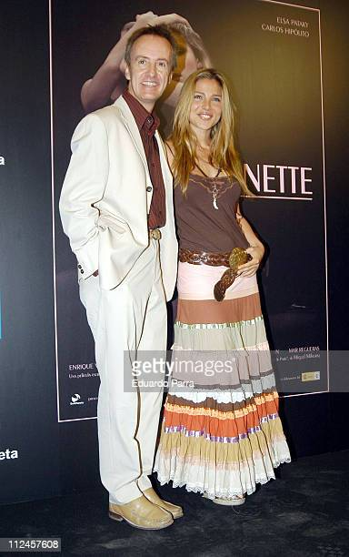 Carlos Hipolito and Elsa Pataky during 'Ninette' Madrid Photocall at Madrid in Madrid Spain