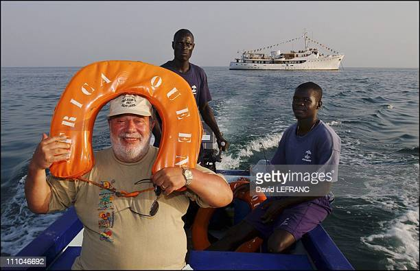 Carlos in the Bijagos Archipelago in GuineaBissau on November 01st 2004 Carlos discovers the Bijagos archipelago aboard the African Queen a yacht of...
