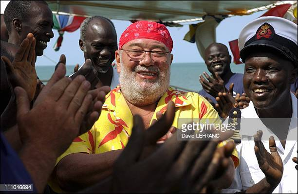 Carlos in the Bijagos Archipelago in GuineaBissau on November 01st 2004 Carlos discovers the Bijagos archipelago aboard the African Queen a yacht...