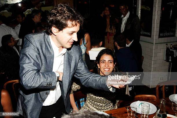 Carlos Jereissati Filho attends Private Dinner hosted by CARLOS JEREISSATI CEO of IGUATEMI at Pastis on September 6 2008 in New York City
