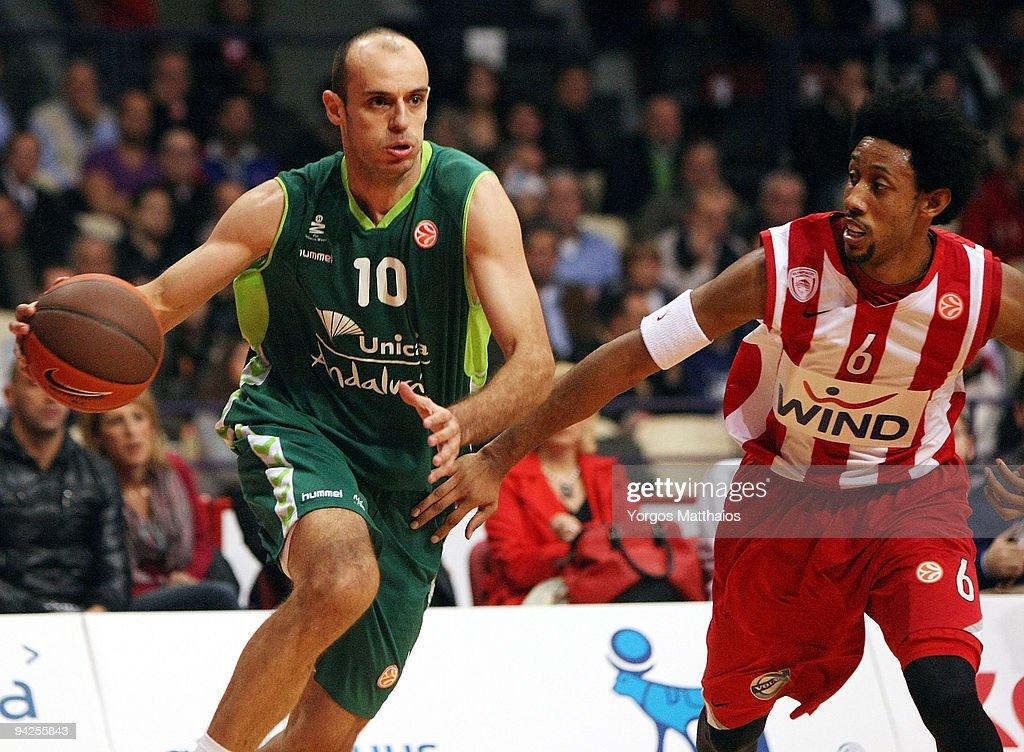 Olympiacos v Unicaja - Euroleague Basketball