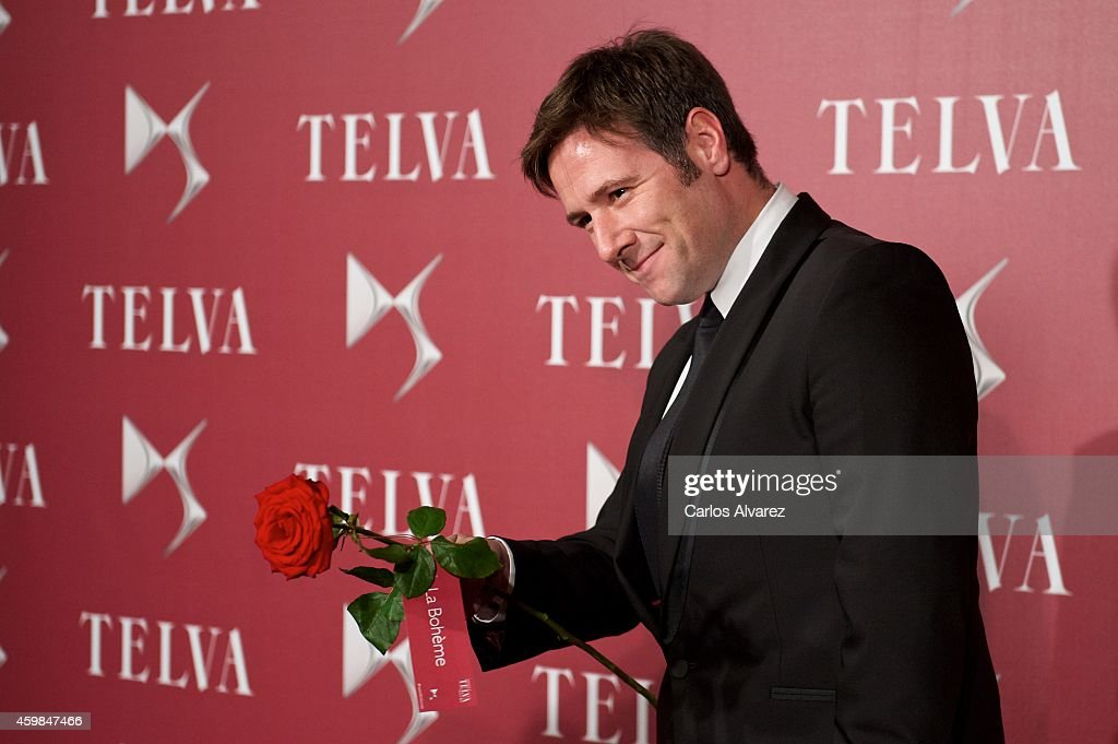 Carlos Latre attends the 'Telva Beauty' 2014 awards at the Royal Teather on December 2, 2014 in Madrid, Spain.