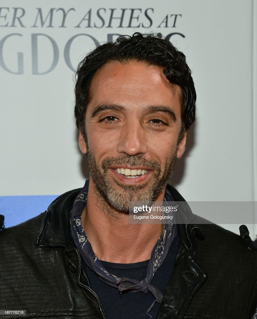 <a gi-track='captionPersonalityLinkClicked' href=/galleries/search?phrase=Carlos+Leon&family=editorial&specificpeople=653413 ng-click='$event.stopPropagation()'>Carlos Leon</a> attends the Cinema Society with Swarovski & Grey Goose premiere of eOne Entertainment's 'Scatter My Ashes at Bergdorf's' at Florence Gould Hall on April 29, 2013 in New York City.