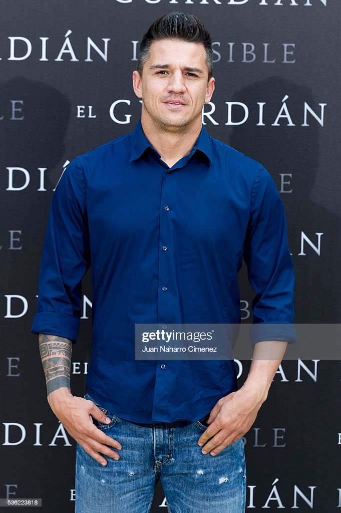 Carlos Librado attends 'EL Guardian Invisible' photocall on May 31, 2016 in Madrid, Spain.