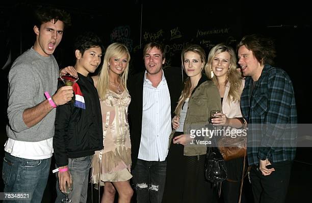 Carlos Lopez Paris Hilton Chad Muska Vanessa Traina guest and Sean Stewart