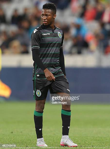 Carlos Mane of Sporting Club de Portugal during the 2015 Cape Town Cup match between Ajax Cape Town and Sporting Lisbon at Cape Town Stadium on July...