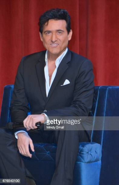 Carlos Marin of Il Divo attend a news conference announcing the group's September sixshow headlining engagement 'Il Divo This is Your Night Live in...