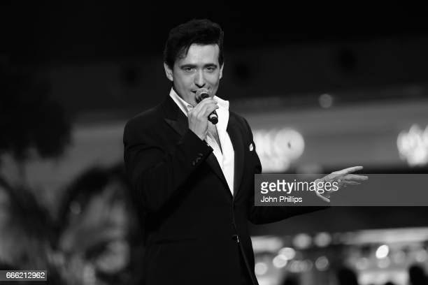 Carlos Marin of Il Divo during the Grand Opening of The Mall of Qatar at Mall of Qatar on April 8 2017 in Doha Qatar