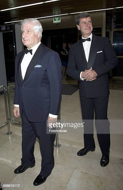 Carlos Martinez de Irujo and Cayetano Martinez de Irujo attend a dinner in honour of the 'Mariano de Cavia' 'Luca de Tena' and 'Mingote' awards...