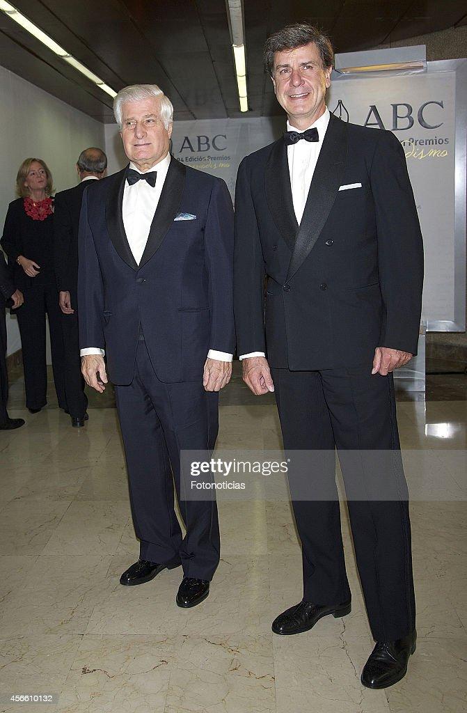 Spanish Royals Attend a Dinner at 'Casa de ABC' in Madrid