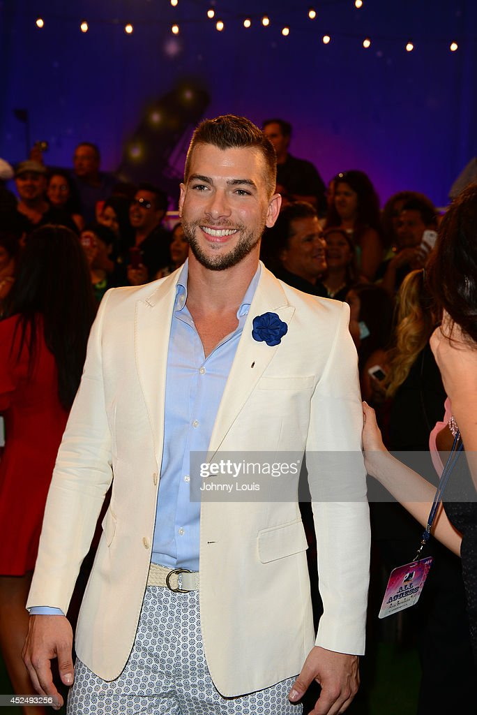 Carlos McConnie attends the Premios Juventud 2014 Awards at Bank United Center on July 17, 2014 in Miami, Florida.