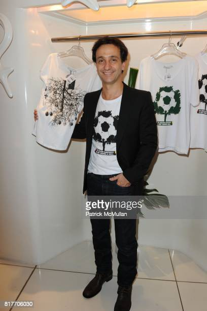 Carlos Miele attends Carlos Miele and Vogue Italia Celebrate Limited Edition of TShirts Designed by Lapo Elkann and Bianca Brandolini CONTACT SIPA...