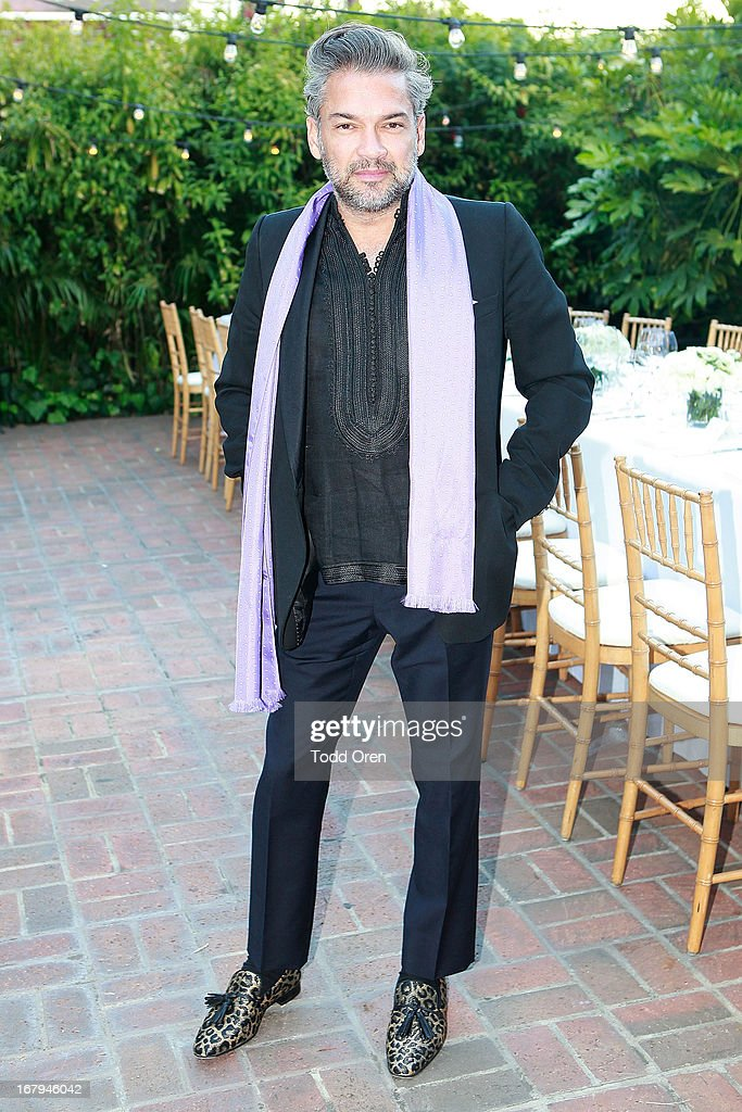 <a gi-track='captionPersonalityLinkClicked' href=/galleries/search?phrase=Carlos+Mota+-+Stylist&family=editorial&specificpeople=14364320 ng-click='$event.stopPropagation()'>Carlos Mota</a> attends the Balmain LA Dinner at Chateau Marmont on May 2, 2013 in Los Angeles, California.