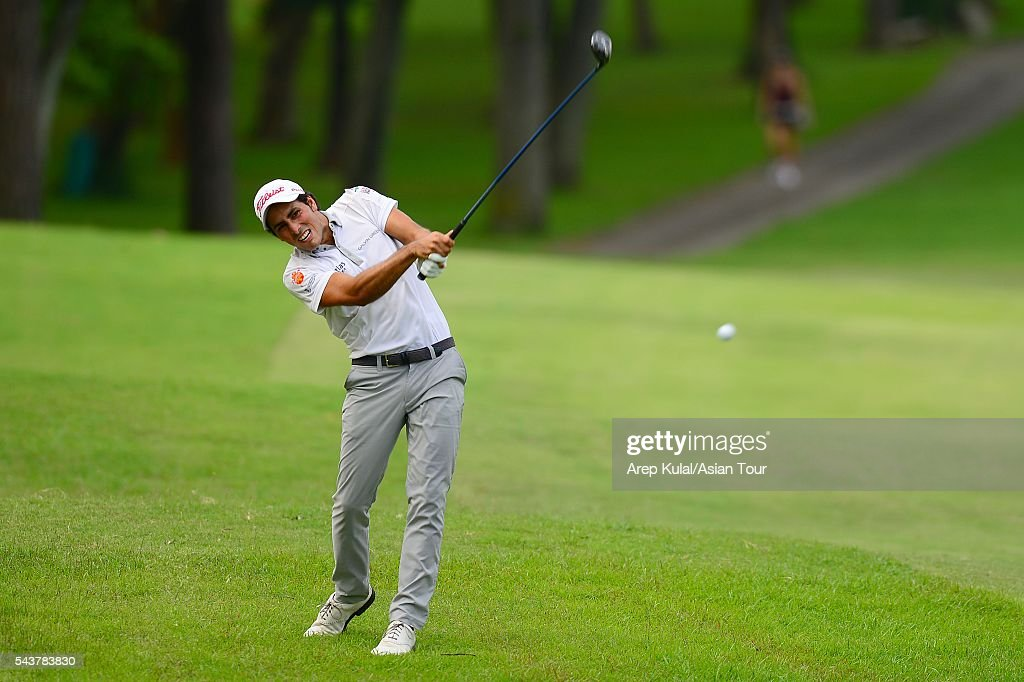Carlos Pigem of Spain pictured during the round 1 of the Yeangder Tournament Players Championship at Linkou International Golf Club on June 30, 2016 in Taipei, Taiwan.