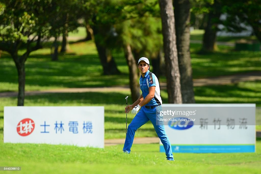 Carlos Pigem of Spain pictured during the round 2 of the Yeangder Tournament Players Championship 2016 at Linkou International Golf Club on July 1, 2016 in Taipei, Taiwan.