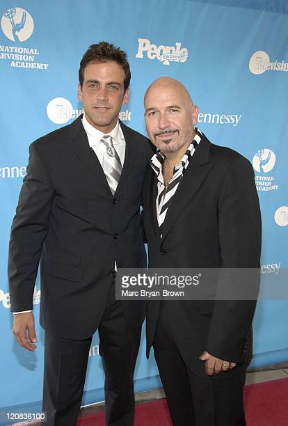Carlos Ponce and Richard PerezFeria editor of Teen People