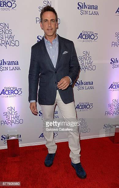 Carlos Ponce attends premiere of new Telemundo productions 'Silvana Sin Lana' 'Sin Senos Si Hay Paraiso' and 'Senora Acero 3 La Coyote' at Conrad...