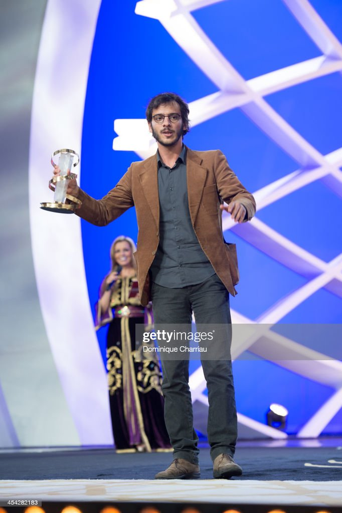 Carlos Quintela is awarded Jury Prize during the Award Ceremony of the 13th Marrakech International Film Festival on December 7, 2013 in Marrakech, Morocco.