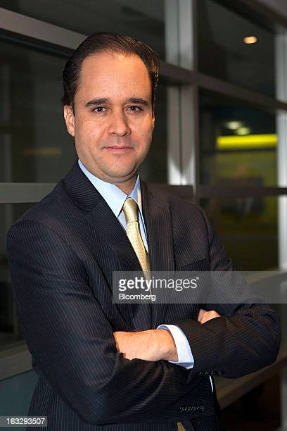 Carlos Ramirez president of Consar Mexico's pension fund regulator stands for a photo following an interview in Mexico City Mexico on Thursday March...