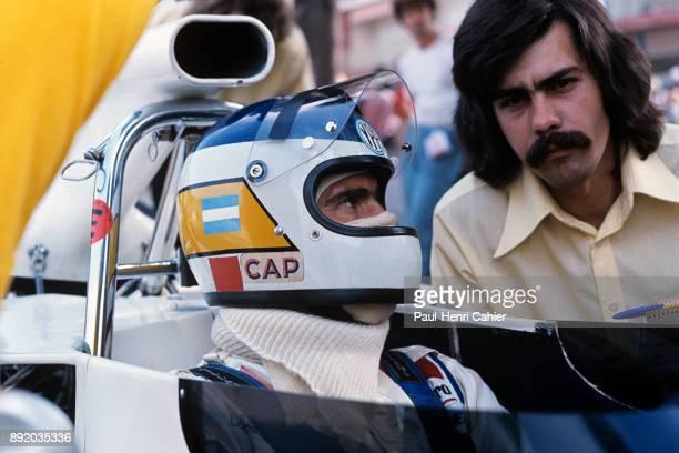 Carlos Reutemann Gordon Murray BrabhamFord BT42 Grand Prix of Monaco Circuit de Monaco 03 June 1973 Carlos Reutemann with Gordon Murray