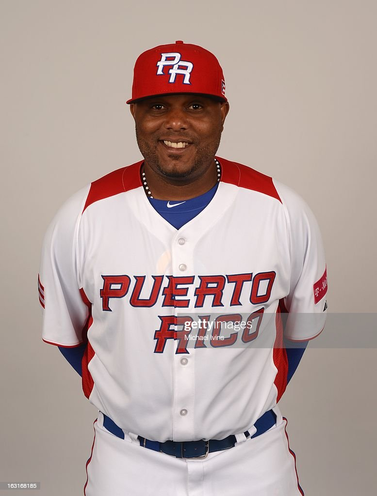 Carlos Rivera #44 of Team Puerto Rico poses for a headshot for the 2013 World Baseball Classic at the City of Palms Baseball Complex on Monday, March 4, 2013 in Fort Myers, Florida.